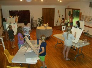 Drawing Class at The Studio