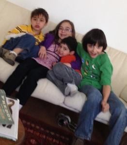 Elihu plus kids