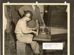 Fort Dix, 1951